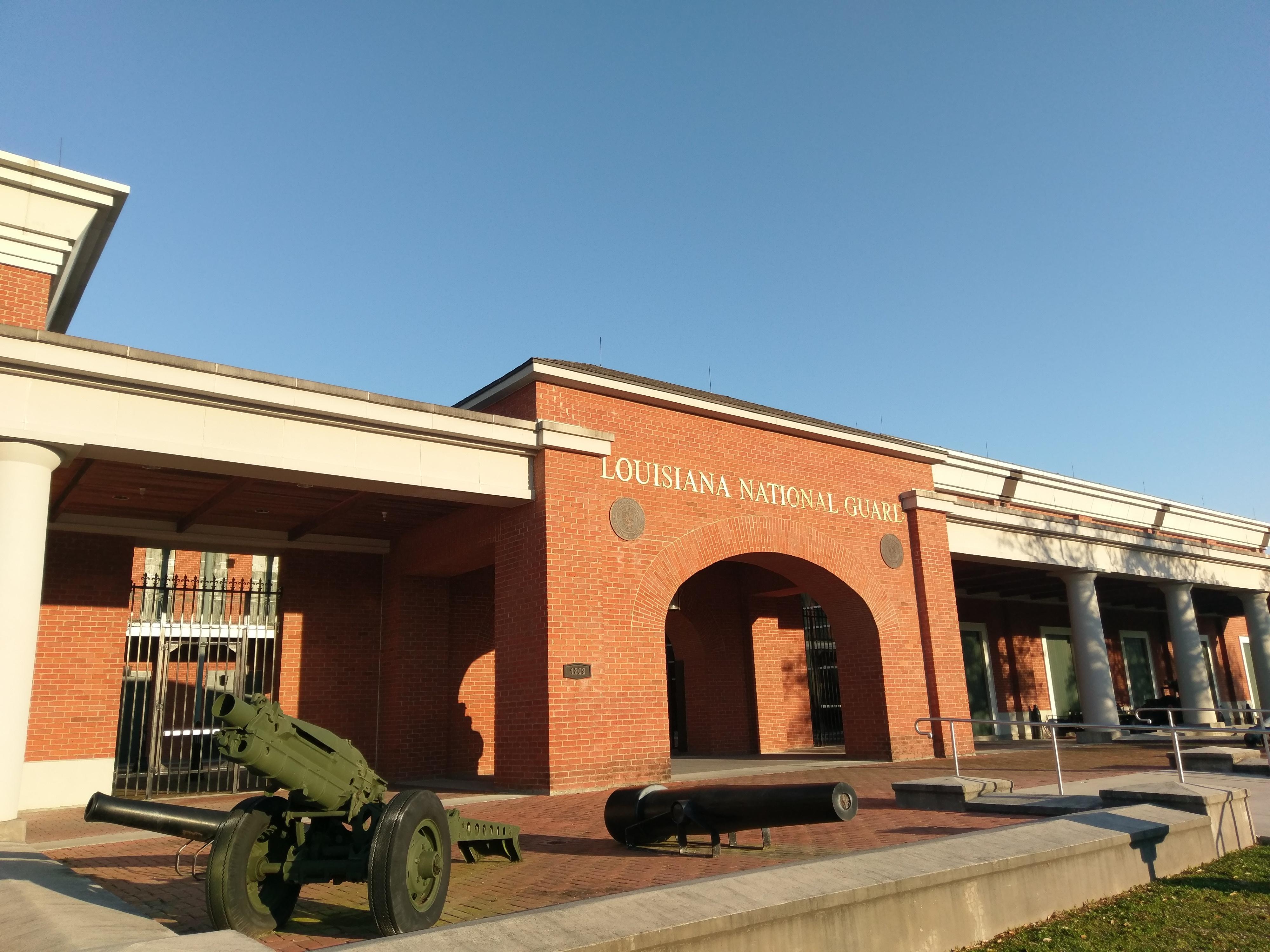 Louisiana National Guard Jackson Barracks